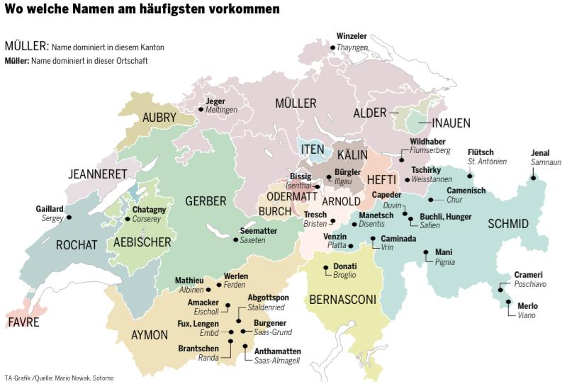 Namen der Schweiz